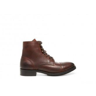 Steve Madden Men's Boots BUDDY Brown Leather Black Friday 2020