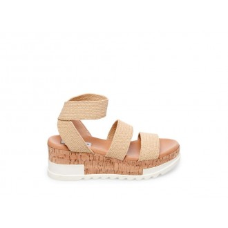 Clearance Sale - Steve Madden Women's Sandals BANDI NATURAL RAFFIA