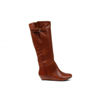 Clearance Sale - Steve Madden Women's Boots INTYCE Cognac Leather