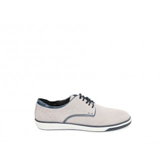 Clearance Sale - Steve Madden Men's Lace-up BARBERRY Grey Suede