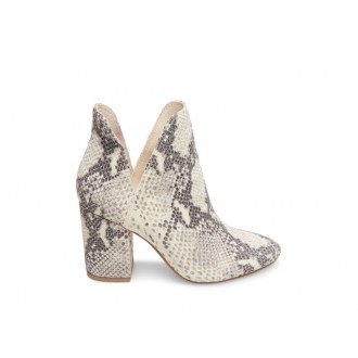 Clearance Sale - Steve Madden Women's Booties ROOKIE NATURAL Snake