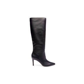 Steve Madden Women's Boots KINGA Black Leather Black Friday 2020