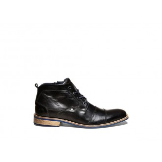 Clearance Sale - Steve Madden Men's Boots KRAMERR Black Leather