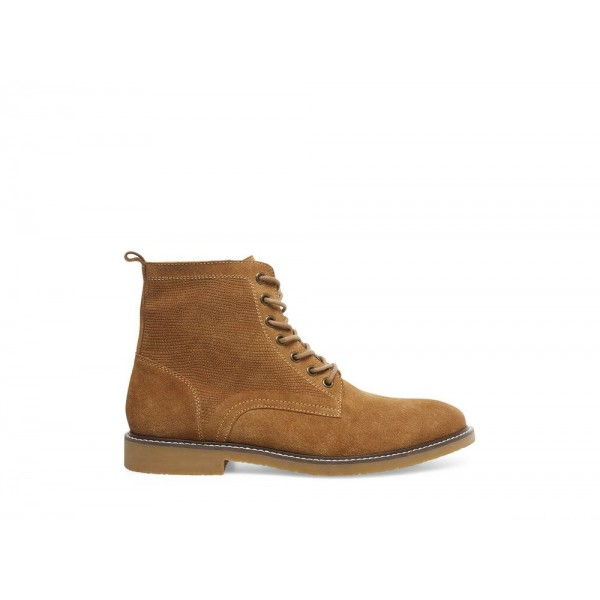 Clearance Sale - Steve Madden Men's Boots BART Tan Suede