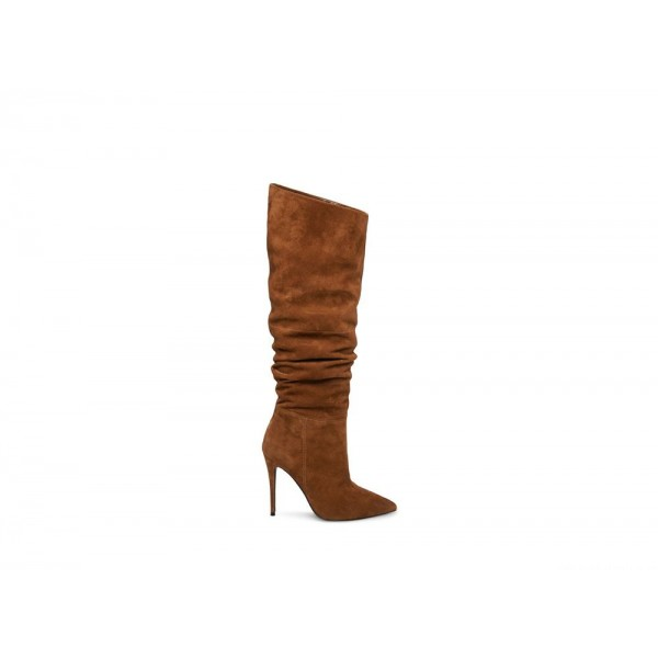 Clearance Sale - Steve Madden Women's Boots DAKOTA Brown Suede