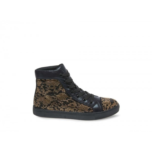 Clearance Sale - Steve Madden Men's Sneakers RIOT Black/Gold