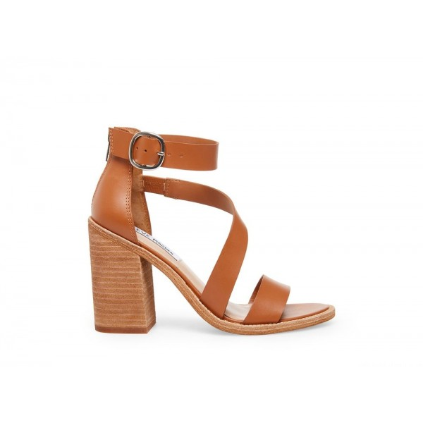 Clearance Sale - Steve Madden Women's Heels COLLINS Cognac Leather