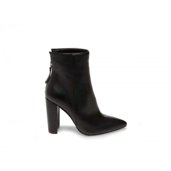 Clearance Sale - Steve Madden Women's Booties TRISTA Black Leather