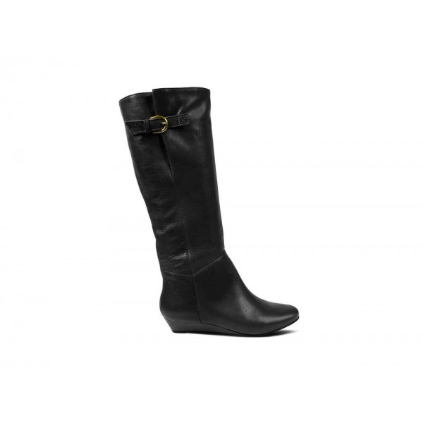 Clearance Sale - Steve Madden Women's Boots INTYCE Black Leather