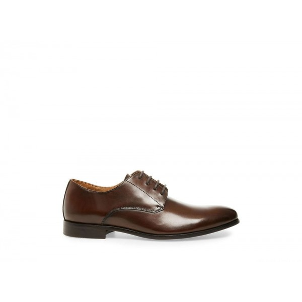 Clearance Sale - Steve Madden Men's Dress PREY Brown Leather