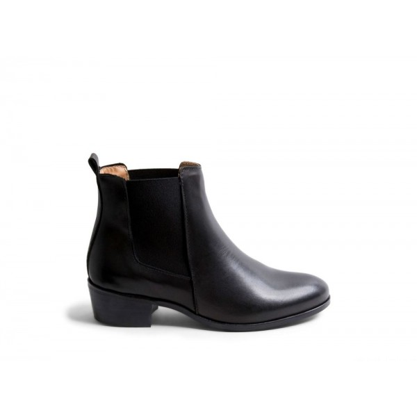 Clearance Sale - Steve Madden Women's Booties DOVER Black Leather