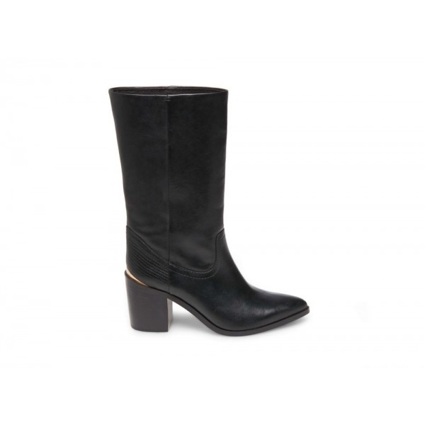 Clearance Sale - Steve Madden Women's Boots FRIDA Black Leather