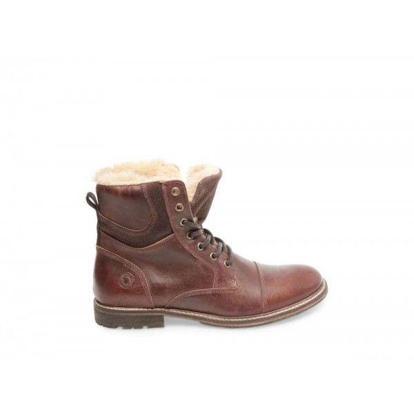 Clearance Sale - Steve Madden Men's Boots TAI Cognac Leather