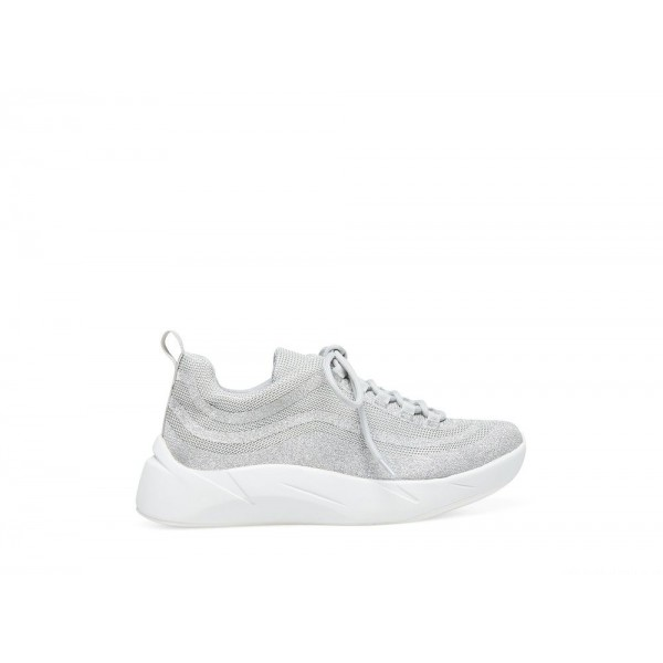 Clearance Sale - Steve Madden Women's Sneakers QUADE SILVER Multi