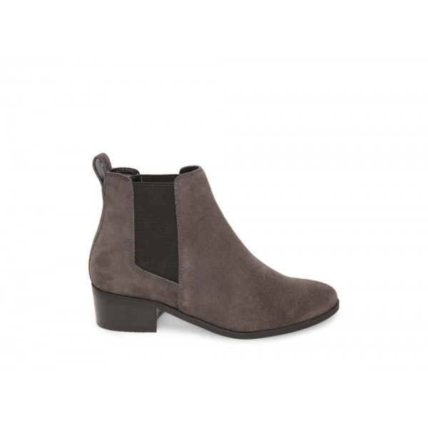 Clearance Sale - Steve Madden Women's Booties DOVER Grey Suede