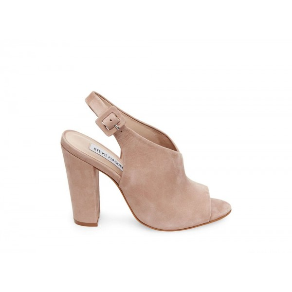 Clearance Sale - Steve Madden Women's Heels RILEY BLUSH NUBUCK