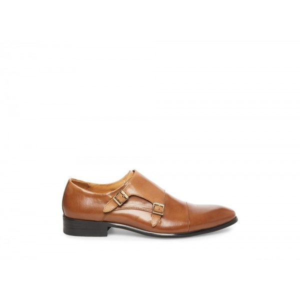Clearance Sale - Steve Madden Men's Dress BOWEN Cognac Leather