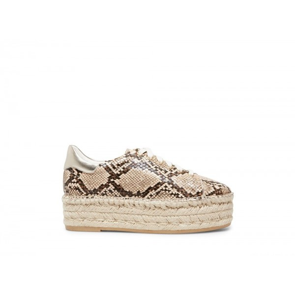 Clearance Sale - Steve Madden Women's Sneakers PARADE NATURAL Snake