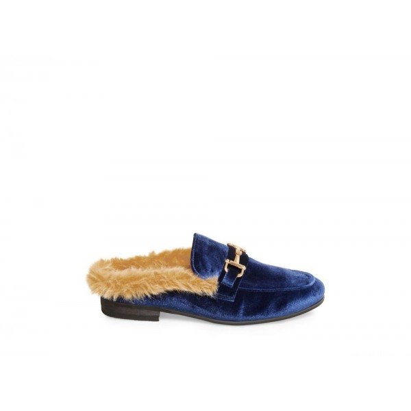 Clearance Sale - Steve Madden Men's Casual CALVIN BLUE Velvet