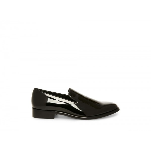 Clearance Sale - Steve Madden Men's Dress FALSETTO Black PATENT