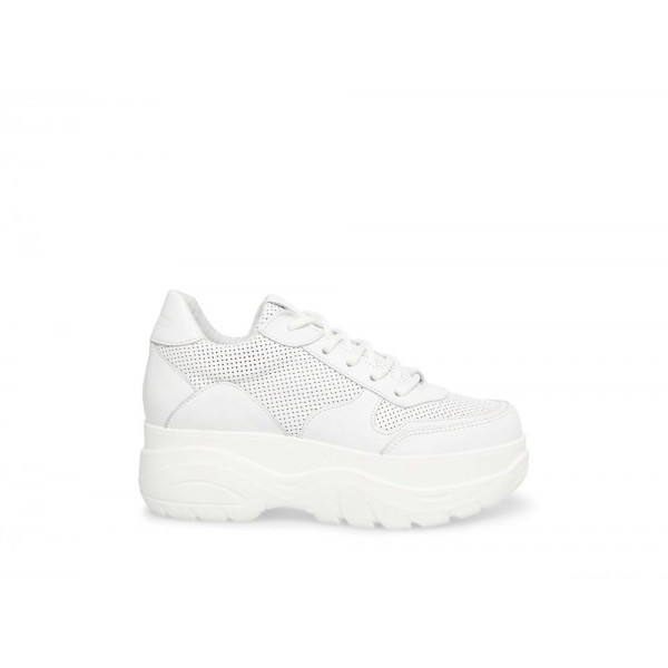 Clearance Sale - Steve Madden Women's Sneakers GRIFFON WHITE Leather