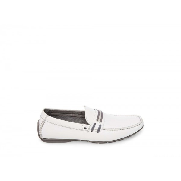 Clearance Sale - Steve Madden Men's Casual GRAB WHITE Leather