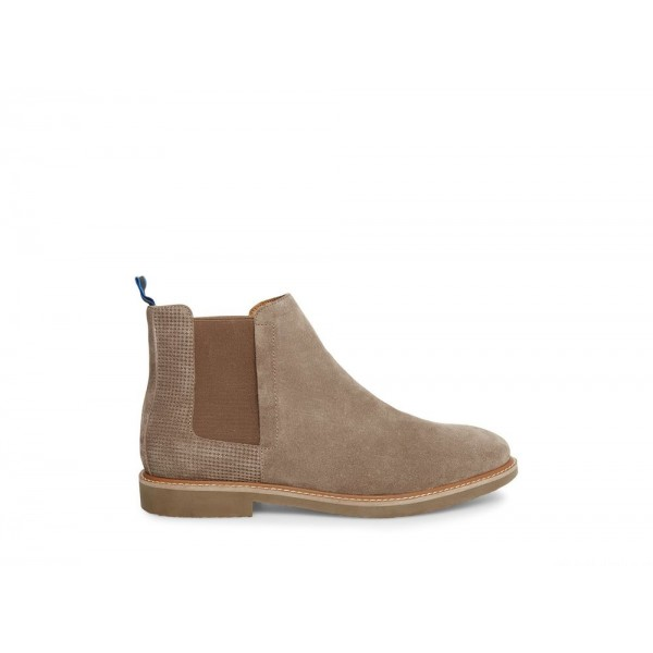 Clearance Sale - Steve Madden Men's Boots HIGHLYTE Taupe Suede
