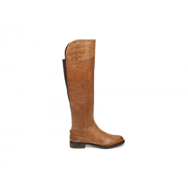 Clearance Sale - Steve Madden Women's Boots MARIANNE Cognac Leather