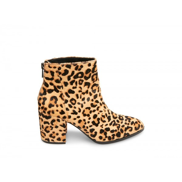 Clearance Sale - Steve Madden Women's Booties JILLIAN-L LEOPARD