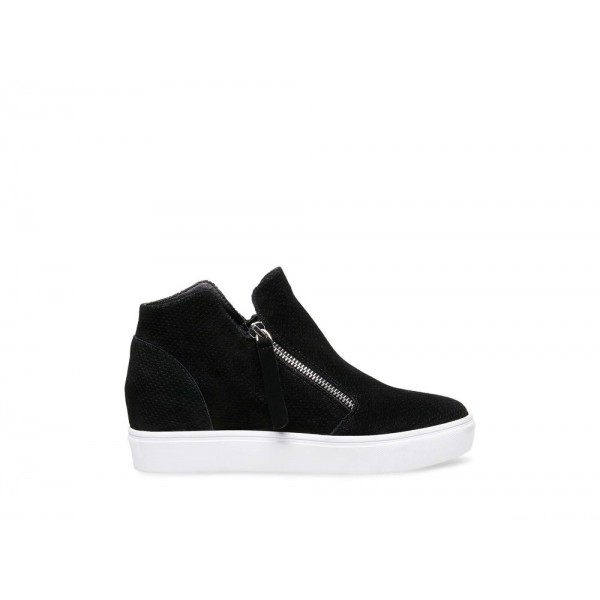 Clearance Sale - Steve Madden Women's Sneakers CALIBER Black Suede