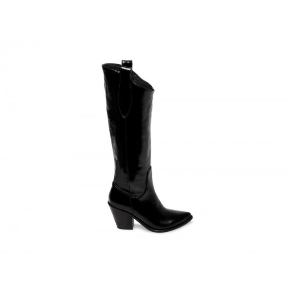 Clearance Sale - Steve Madden Women's Boots US-DARE Black Leather