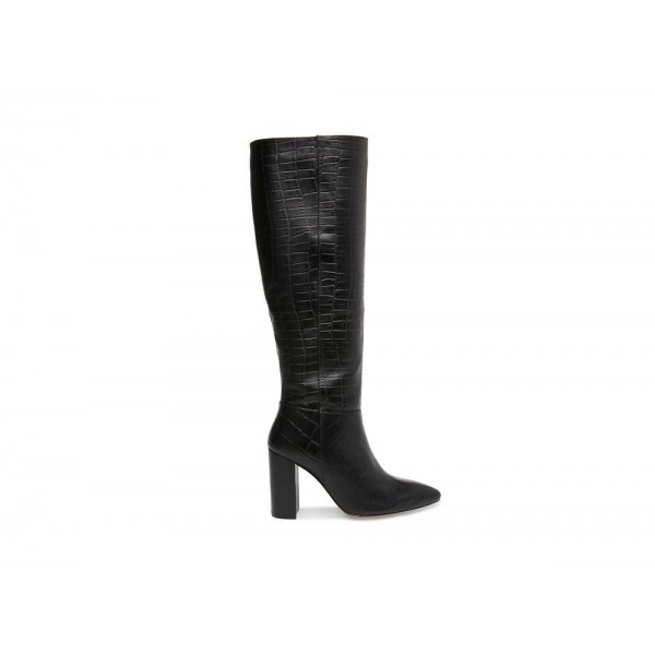 Clearance Sale - Steve Madden Women's Boots FENIX Black CROCODILE