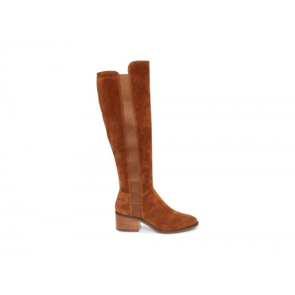 Clearance Sale - Steve Madden Women's Boots GISELLE CHESTNUT Suede