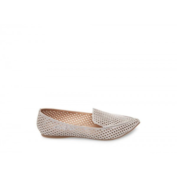 Clearance Sale - Steve Madden Women's Flats FEATHER-P Grey Suede