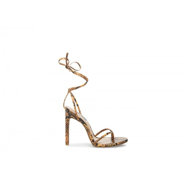 Clearance Sale - Steve Madden Women's Heels VADA Yellow Snake