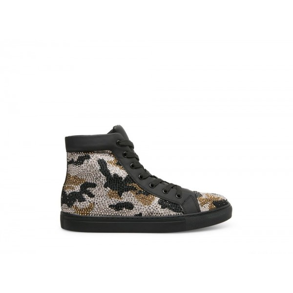 Clearance Sale - Steve Madden Men's Casual RANGE Black CAMO