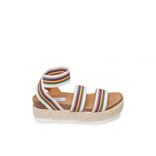 Steve Madden Women's Sandals KIMMIE RAINBOW Multi Black Friday 2020