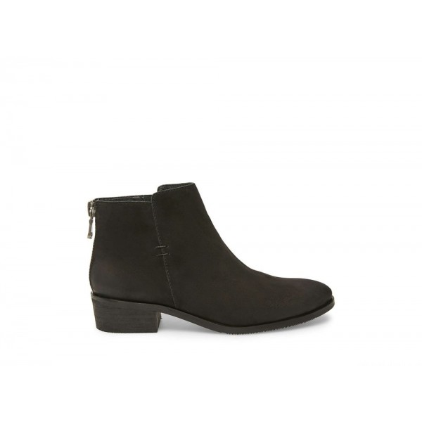 Steve Madden Women's Booties BAYLOR Black NUBUCK Black Friday 2020