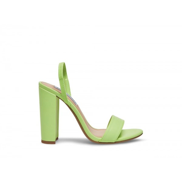 Steve Madden Women's Heels CAMEO MINT Green Leather Black Friday 2020